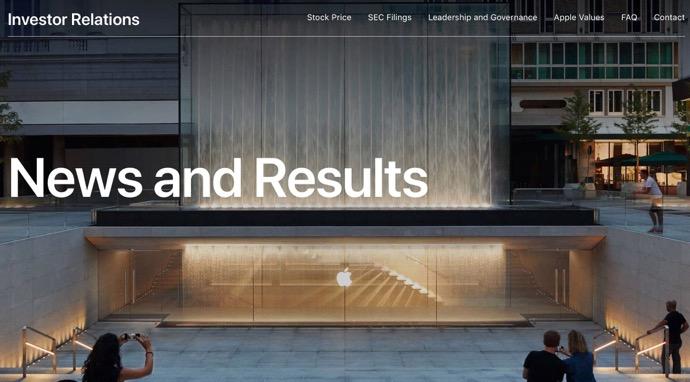 Apple、10月30日に2019年第4四半期の決算報告をおこなうこと発表