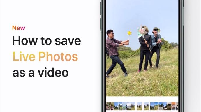 Apple Support、「iPhone、iPad、またはiPod touchでライブ写真をビデオとして保存する方法」のハウツービデオを公開