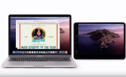 Apple Support、iPadをSidecarでMacの2番目のディスプレイとして使用する方法のハウツービデオを公開