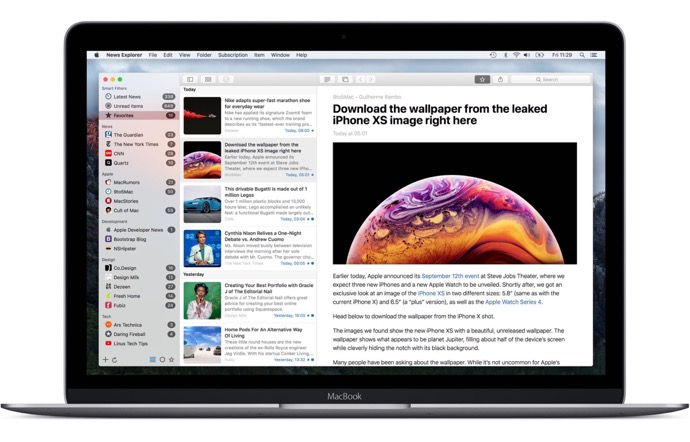 【Mac】RSS、JSON、Atom、Twitterのニュースリーダー「News Explorer」、バージョン 1.9.6をリリース