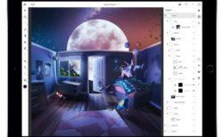 Photoshop CC for iPadは幾つかの主要機能を欠いて、まもなくリリースされる