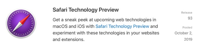 Safari Technology Preview 93 00001 z