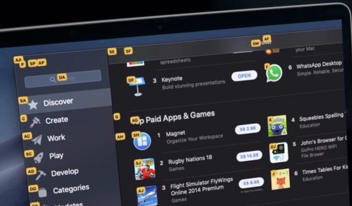 【Mac】システム全体のキーボード制御用のアプリ「Vimac」