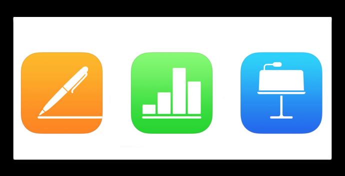 IWork iOS