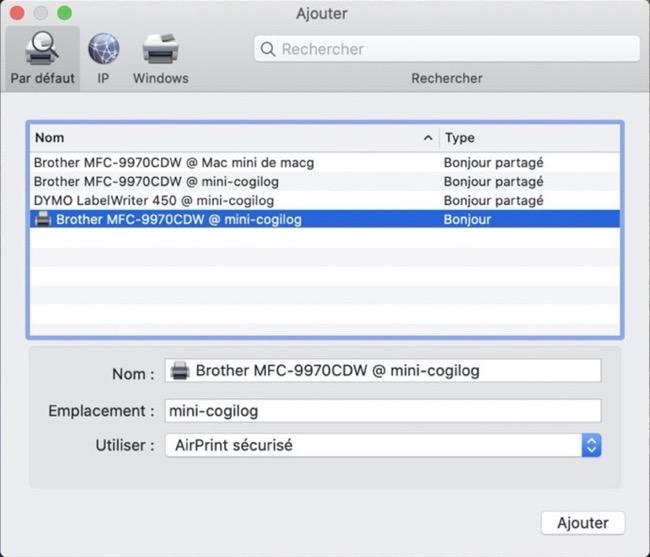 MacOS Catalina Printer 00004 z