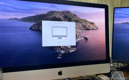 Apple、macOS Catalina 10.15 のインストール中「Macを設定中」画面で止ることを確認
