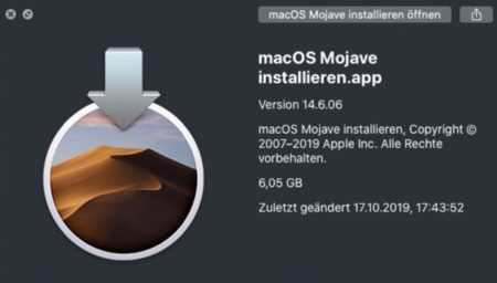 macOS Catalina 10.15、コマンド「softwareupdate」は拡張され過去のmacOSのインストールパッケージがロードできる