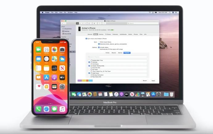 Apple Support、macOS CatalinaでMacの音楽をiPhoneまたはiPadに同期する方法ほかのハウツービデオを公開