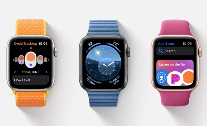 Apple、「watchOS 6.1 Developer beta 3 (17S5068e)」を開発者にリリース