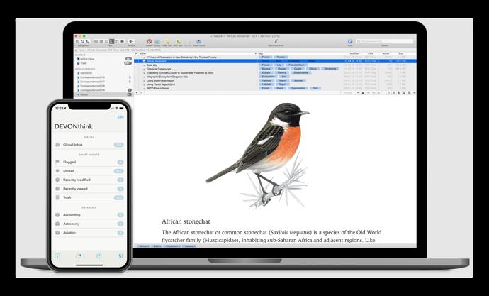【Mac】DEVONtechnologies、ドキュメントおよび情報管理ソリューション「DEVONthink 3.0.2」をリリース