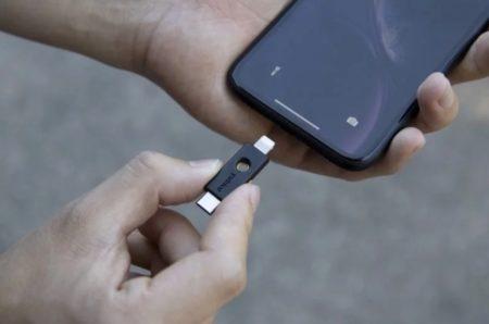 iOS 13.3およびiPadOS 13.3 betaで、Safari は物理的なセキュリティキーをサポートしより安全に