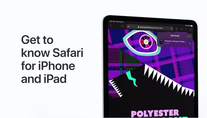 Apple Support、iOS 13およびiPadOS 13のSafariを知ると題するハウツービデオを公開