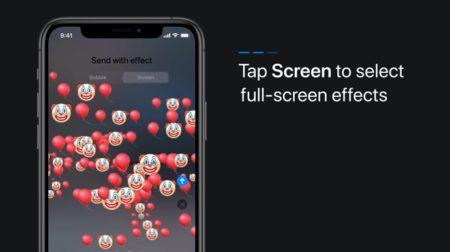 Apple Support、エフェクト付きメッセージを送信する方法のハウツービデオを公開