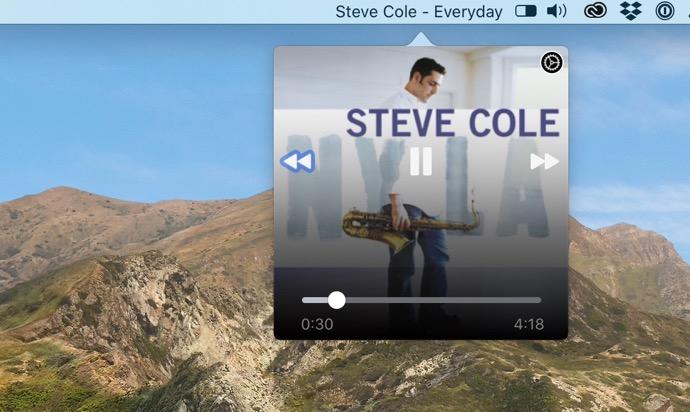 macOSのメニューバーからApple Musicを制御する無料のアプリケーション「Music Bar」
