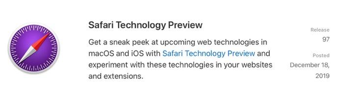 Safari Technology Preview 97 00001 z