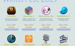 【Sale情報/Mac】WinterFest 2019で「TextExpander」「DEVONthink Pro Office」など17人気アプリが最大50%オフ