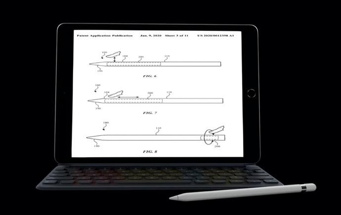 Apple Pencil、追加のタッチセンシティブコントロールを取得する可能性がある