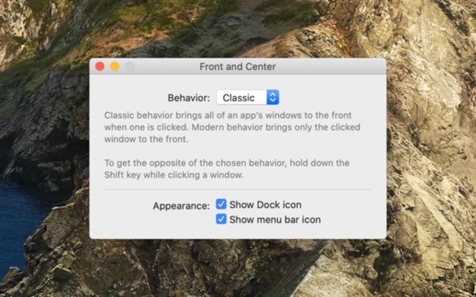 【Mac】マウスのクリックでアプリのすべてのウィンドウを前面に表示「Front and Center」がリリース
