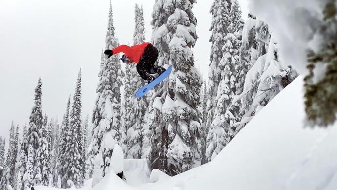 Apple、Shot on iPhoneシリーズの新しいCF「Powder: Backcountry Snowboarding at Baldface Lodge」を公開
