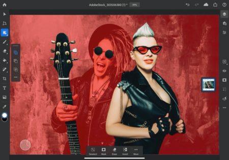 Adobe、iPad向けにアプリの大幅な更新をしデスクトップ品質のPhotoshopツールを提供