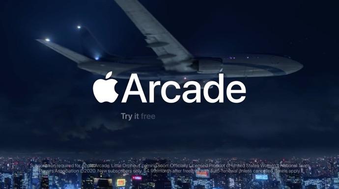 Apple、Apple Arcadeの新しいCF2本を公開しています