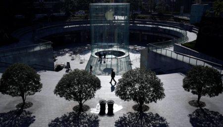 Apple、2月15日に上海に在る7店舗の内の1店舗を再開