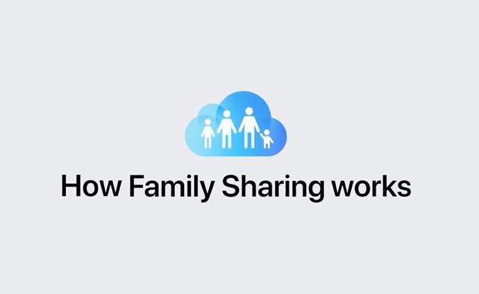 Apple Support、ファミリー共有の仕組のハウツービデオを公開