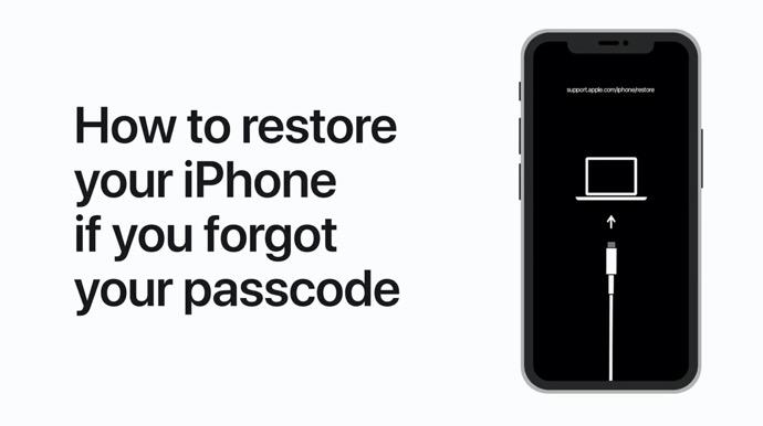 Apple Support、パスコードを忘れた場合にiPhoneを復元する方法のハウツービデオを公開