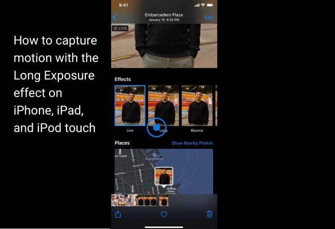 Apple Support、iPhoneおよびiPadで長時間露光エフェクトを使用してモーションをキャプチャする方法のハウツービデオを公開