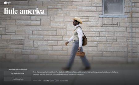 Apple、Apple TV+での「Little America」の予告編3話分を公開