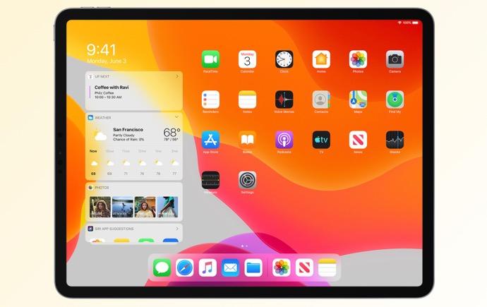 Apple、「iPadOS 13.4 Developer beta (17E5223h)」を開発者にリリース
