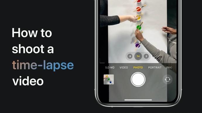 Apple Support、iPhoneおよびiPadでタイムラプスビデオをキャプチャする方法のハウツービデオを公開