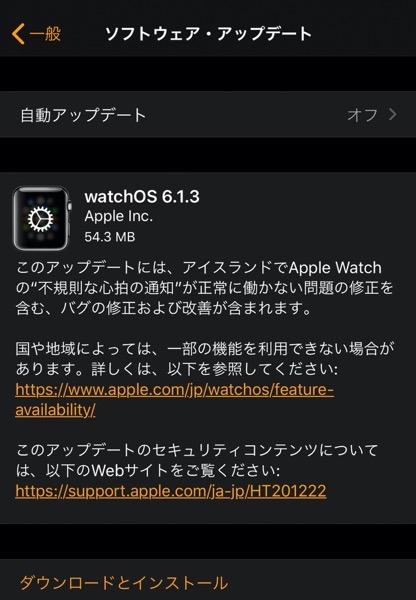 WatchOS 6 1 3 00001 z