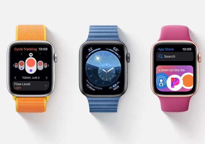 Apple、「watchOS 6.2 Developer beta 3 (17T5244c)」を開発者にリリース