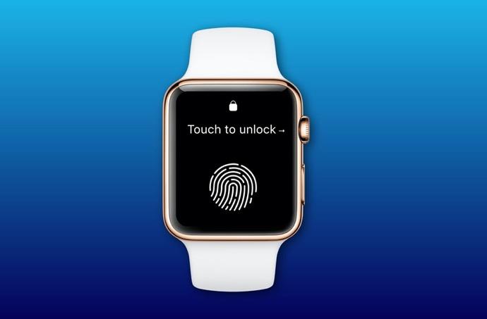 Apple、Apple Watchに「Touch ID」が搭載される可能性