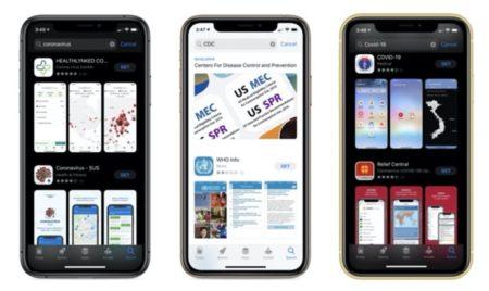 Apple、COVID-19関連のアプリは信頼できるアプリのみにガイドラインを更新し迅速に承認