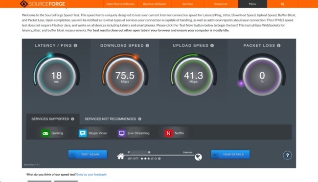 LAN speed test tool 00003 z