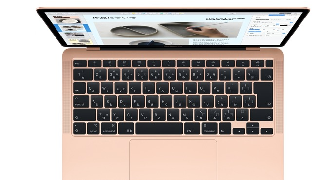 iFixit、新しいMacBook AirがMagic Keyboardで0.5mm厚いことを発見