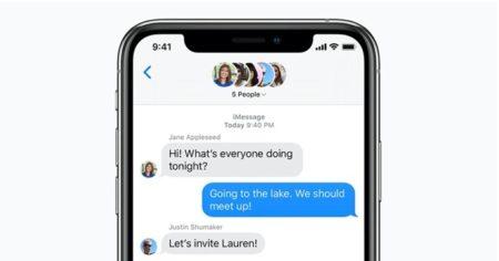 Apple、メンションやメッセージの取り消しなどの新しいメッセージ機能をテスト