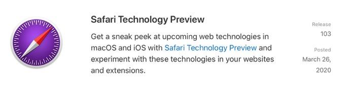 Safari Technology Preview 103 00001 z