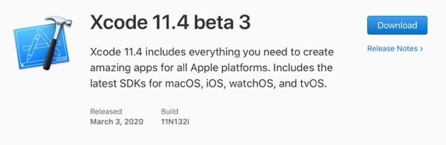 Xcode 11 4 beta 3 00001 z
