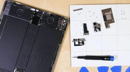 iFixit、iPad Pro 2020の分解ビデオを公開しLiDARスキャナーの詳細が明らかに