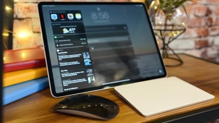iPadOS 13.4、Magic Trackpadでの1・2・3・5本指のゼスチャー