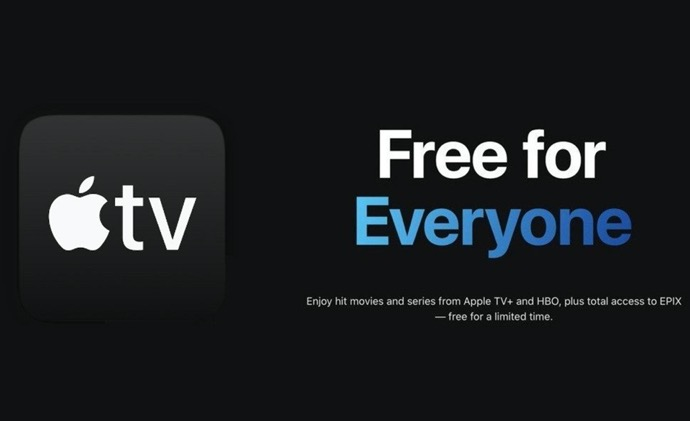 Apple、一部のApple TV+番組を期間限定で無料に