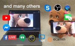 「EpocCam」でiPhoneおよびiPadをWeb会議用のWebカメラとして使う方法