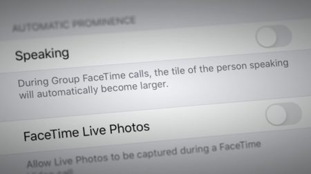 Apple、iOS 13.5 betaでグループFaceTimeを微調整し、自動ズームを無効にできる