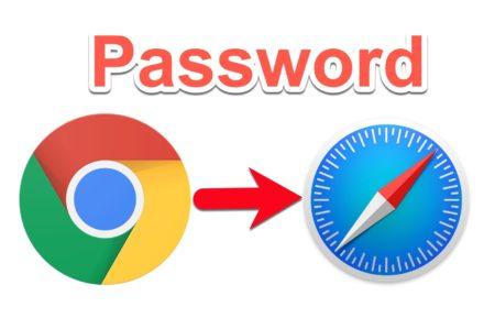 Google ChromeでのパスワードをSafariおよびiCloudキーチェーンにインポートする方法