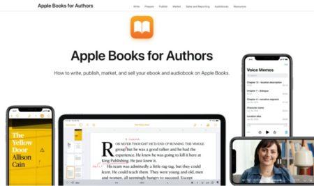 Apple、新しく「Apple Books for Authors」Webサイトを公開