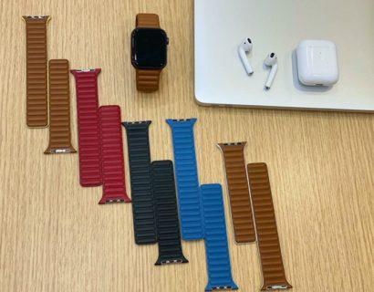 Apple、Apple Watchのレザーループバンドをスポーティにリニューアルの可能性