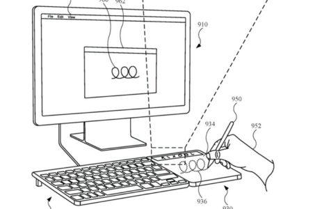 Apple、Apple Pencilとワイヤレス充電に対応したトラックパッドの特許を取得